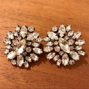 Beautiful J. Crew Crystal Earrings 😍